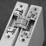Cheap 3D Adjustable Concealed Hinge for Concealed System Door for sale