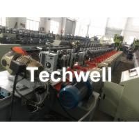 Cheap Octagonal , Octagon Pipe Roll Forming Machine for Rolling Shutter Axes With Manual Decoiler / Uncoiler for sale