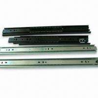 Cheap Three-fold Ball Bearing Drawer Slides with 1.2 x 1.2 x 1.2mm Thickness for sale