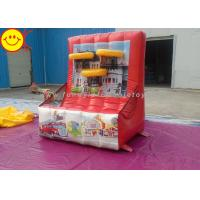 Cheap Funny Inflatable Basketball Game Inflatable Shooting Sports Games Inflatanle Basketball Hoop for sale