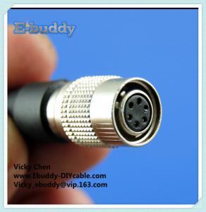 China cheap Hirose HR10 6pin male and female plug