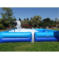 Buy cheap Square Portable Water Pool , Outdoor Fun Party Dance Game Inflatable Soap Foam from wholesalers