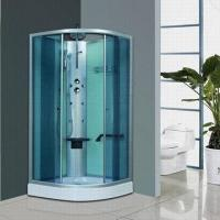 Cheap Shower Room with Handle Shower and Commodity Shelf for sale