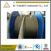 Cheap good price stock elevator steel wire rope for elevator 8x19S+fibre core 13mm for left with SGS certification for sale