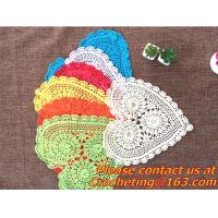Cheap handmade, Crochet Round table clothing - table cover, handmade crochet, blanket, clothes for sale