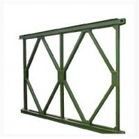 Cheap Prefabricated Steel Bridge With Deck , Portable Launching Military Temporary Bridge for sale