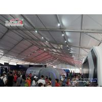 Buy cheap Anti Wind Glass Window Exhibition Marquee Tent With 5 Years Warranty from wholesalers