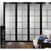 Cheap Modern Interior Decorative Glass Doors / Translucent Glass Door Panels For Curtain Walls for sale