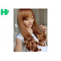 Buy cheap Heat Resistant Fiber Long Wave Texture Hairnet Wig Synthetic Wigs from wholesalers