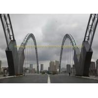 Cheap Heavy Duty Bailey Structural Steel Bridge Strong Quakeproof Steel Arch Bridge for sale