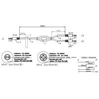 ul2547 audio wiring harness of electricalwireharness