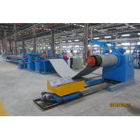 Cheap CNC Steel Coil Straightening Machines , Heavy Sheet Metal Coil Cutting Machine for sale