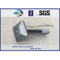 Cheap High Quality Railway Square Flat Bolt DIN ASTM Standard M20 M22 M24 M30 Customized for sale