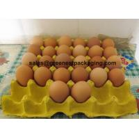 Cheap Pulp Molded 30cell Egg Tray for sale