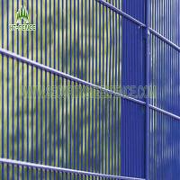 Cheap PVC Galvanized Curved Metal Iron Garden Fence Panels ISO9001 Standard for sale