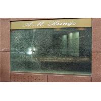 Cheap 12mm - 50mm Bullet Proof Glass With CE IGCC , Show Room Float Glass for sale