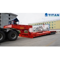150 Ton Removable Gooseneck Lowboy Trailer video