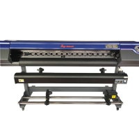 China SC-6160S 1.6m Large Format Eco Solvent Printer For Photo Paper on sale