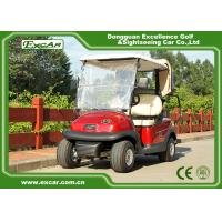 Buy cheap EXCAR 3.7KM 48 Volt Electric Golf Car 2 Seater With Rain Cover Custom from wholesalers