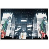 Cheap Ultra Lightweight Glass Advertising LED Video Wall Wide Viewing Angle For Buildings for sale