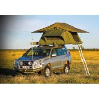 Cheap Customized Pop Up Roof Top Tent , Aluminum Pole Roof Rack Mounted Tent for sale