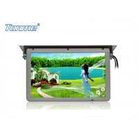 Cheap 19 inch Motorized Roof Bus LCD Monitor with Stepper Motor , Built in SD / USB / HDMI Port wholesale
