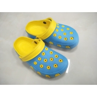 China Unisex Double Layer Clogs Injection Eva Garden Shoes on sale