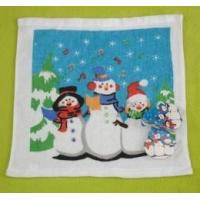 China Christmas Compressed Towel Wiht Snowman Design (YT-679) on sale