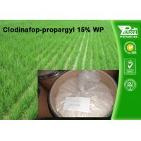 China Clodinafop-Propargyl 15% WP Selective Herbicide Control Of Perennial Grasses on sale