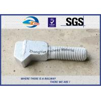 Cheap High Tensile Railway Special Stud Bolt M20 M22 M24 M30 Customized for sale