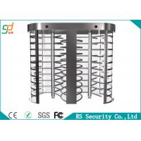Rust-proof RFID Control  Full Height Turnstiles Used For Intelligent Access