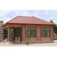 Cheap Brown Commercial Building WPC Wall Cladding With High Impact Resistant for sale