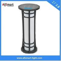 Cheap Aluminum H60cm garden bollard light solar for garden/park solar lighting solar garden lawn lights solar sensor lights for sale