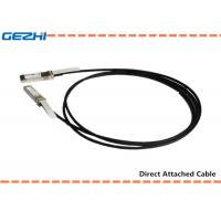China 10G SFP+ to SFP+ DAC Cables Direct Attach Passive Copper Cable For Storage Area Networks on sale