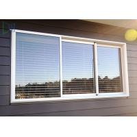 Cheap Double Glazed Glass Aluminium Three Track Sliding Window With Mosquito Net / Blinds wholesale