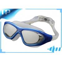 Cheap OEM Ladies Tinted Anti Fog Swim Goggles Clear With Mirrored Lens for sale