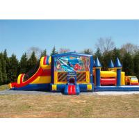 Cheap Durable Commercial Bounce House Obstacle Course For Adult Inflatable Games for sale