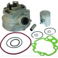Cheap AM6 Engine Component Motorcycle Cylinder Kit , Aluminum Alloy Cylinder Kit for sale