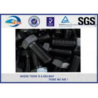 Cheap Grade 10.9 Black Surface 45# steel Hexagon Head Bolt  For Railroad for sale