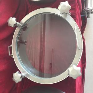 Cheap Sanitary Stainless Steel Manway Door, Elliptical Manway Manlid for sale