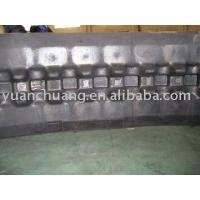 Cheap Rubber Crawler excavator rubber track for sale