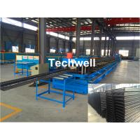 Cheap CT100-600 Electric Cable Ladder Roll Forming Machine for Making Steel Cable Tray Ladder Profile Sheets for sale