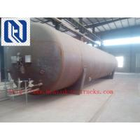 Cheap Volume 60m3 , 3 Axles Fly Ash Tank Semi Trailer Trucks With ABS , Rated Loading 33000kgs for sale