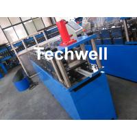 Buy cheap Gi Coil Furring Channel Cold Roll Forming Machine Guiding Column Form Structure from wholesalers