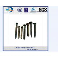 Cheap ZhongYue customize galvanize track spikes for Thailand railway project for sale