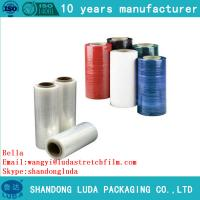 Cheap Clear Plastic PE Stretch Film for pallet wraping luggage wrapping with good price for sale