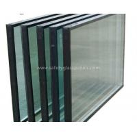 Cheap Heat Insulating Sealed Glass Window Units With Sealant , Euro Bronze for sale