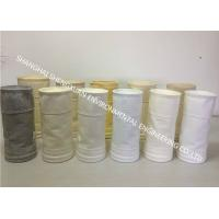 Cheap Easy Cleaning Dust Collector Filter Bags 550 GSM To Improve Filter Efficiency for sale