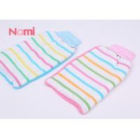 Cheap Colorful Exfoliating Body Gloves , Shower Scrub Glove Removing Dead Skin for sale