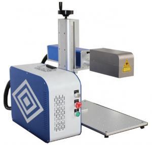 China 8000mm/s Handheld Fiber Laser Metal Engraving Machine 30W on sale